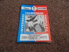Inverness Caledonian Thistle v Albion Rovers, 1996/97